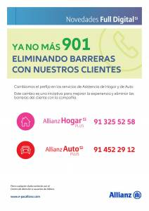 Telefonos 901 Allianz