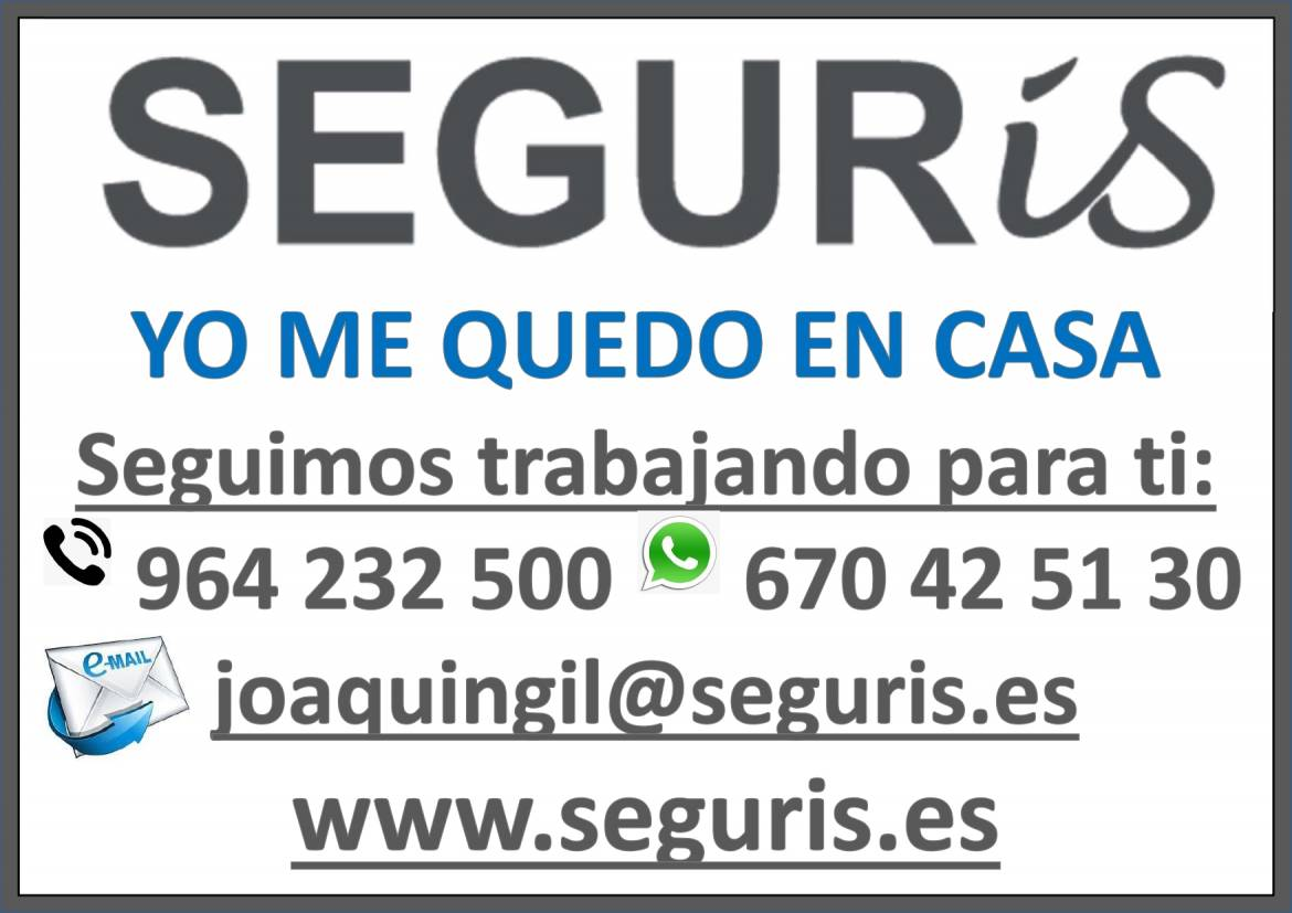 Comunicado SEGURIS covid-19