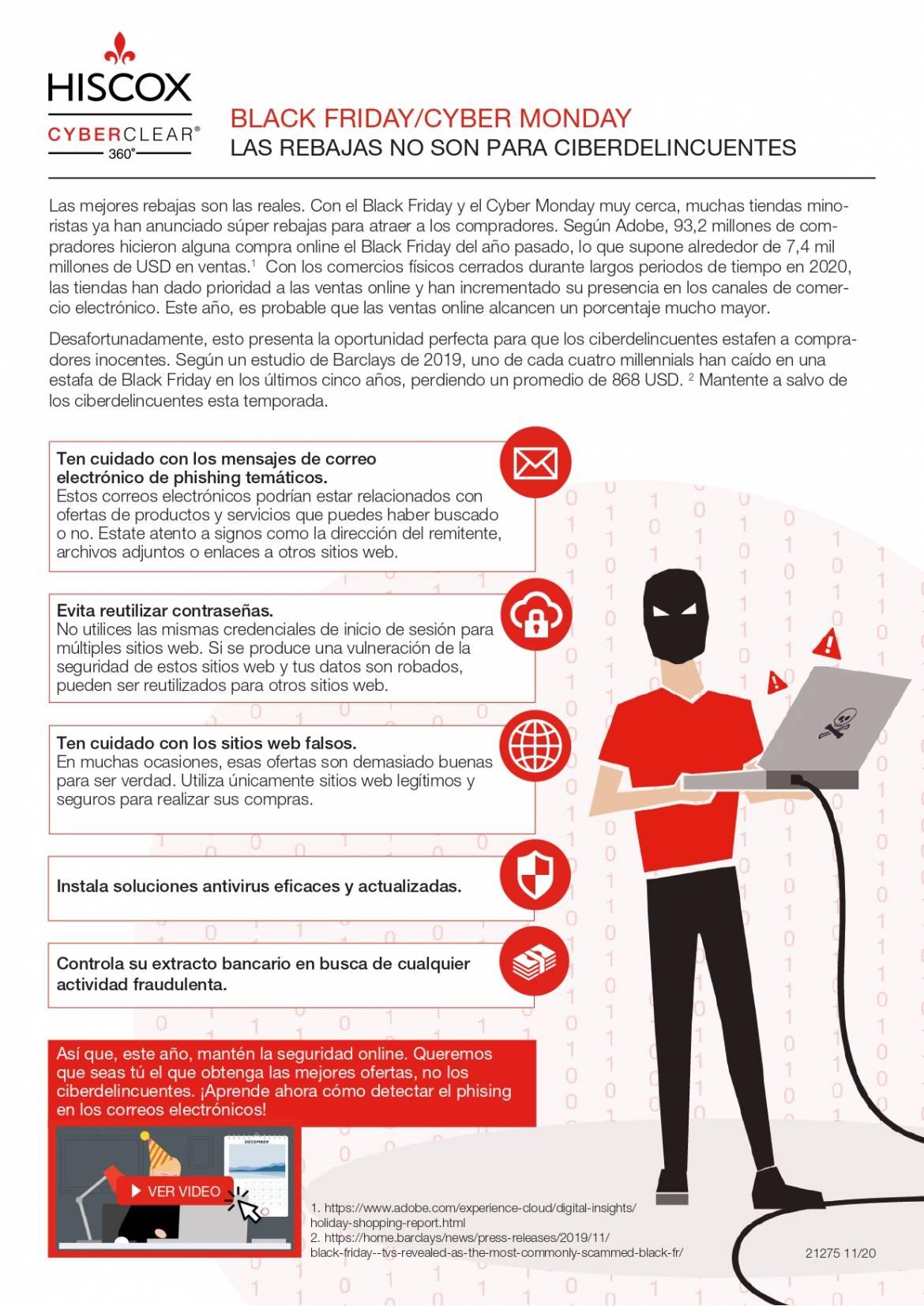 CYBER MONDAY,  (Dia Mundial de la Ciberseguridad)